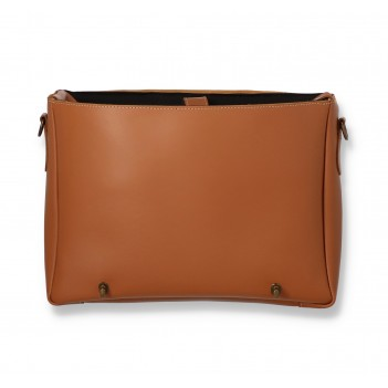 Bicycle leather bag for laptop