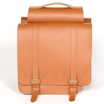 Classic leather panniers