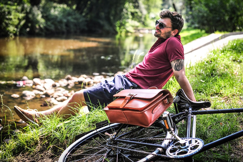 Bicycle bags handmade in Poland